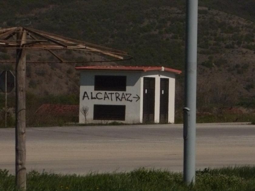 FrontièreSerbobulgare-Alcatraz