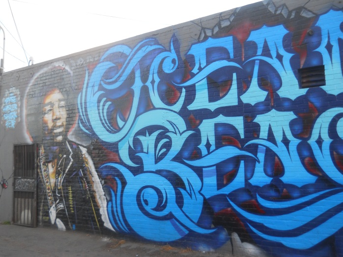 Ocean Beach Jimmy Hendrix