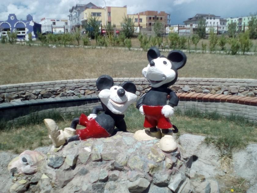 Mickey à Erdenet