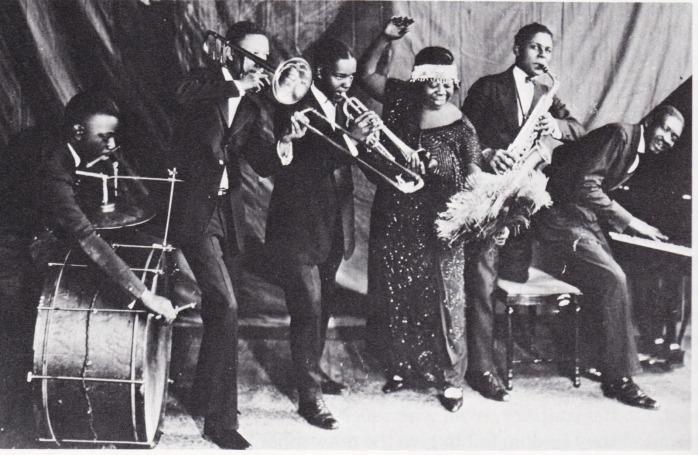Ma Rainey with band