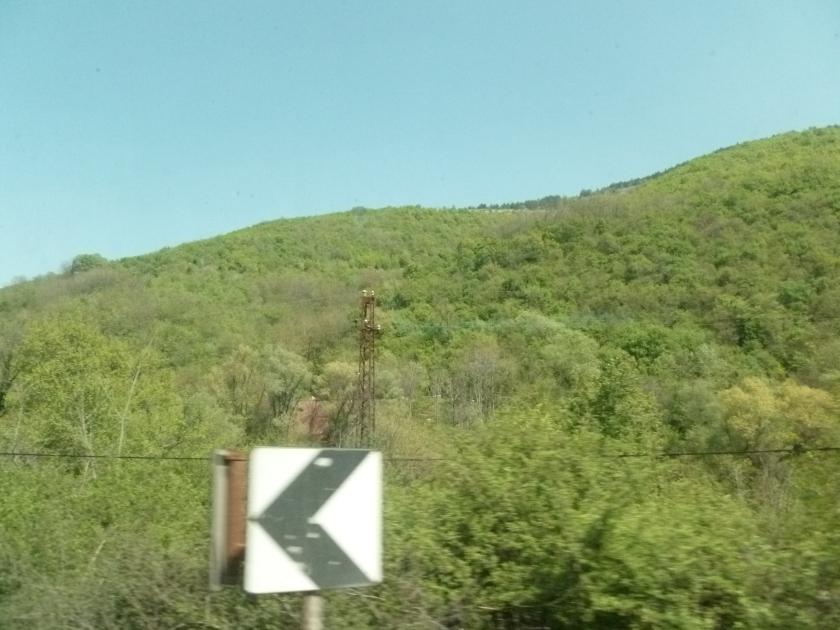Sur la route_les montagnes serbes