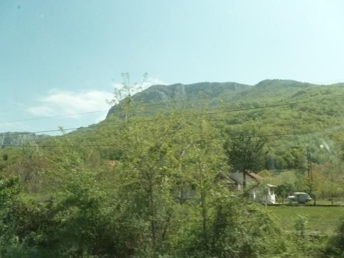 Sur la route_les montagnes serbes5